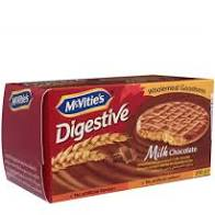 MCVITIES DIGESTIVE MILK CHOCOLATE 200GM