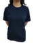 Unisex Pure Cotton Navy Blue Tshirt - Mabrook