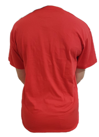 Unisex Pure Cotton Red Tshirt - Mabrook