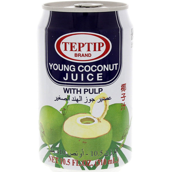 SPECIAL OFFER :  TEPTIP YOUNG COCONUT JUICE W/PULP 310ML