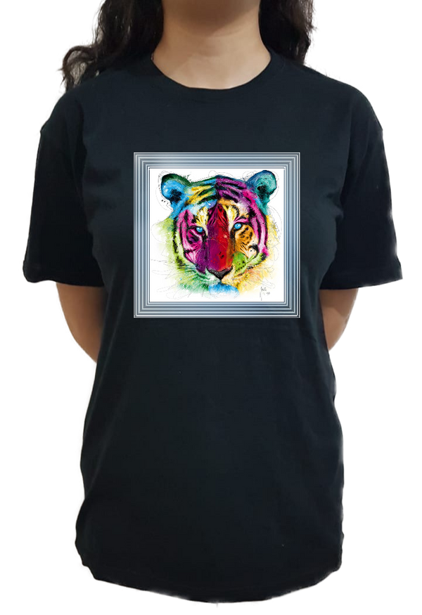 Tiger in a frame - Mabrook