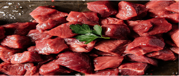 FRESH VEAL CUBES - BONELESS - INDIA - Mabrook
