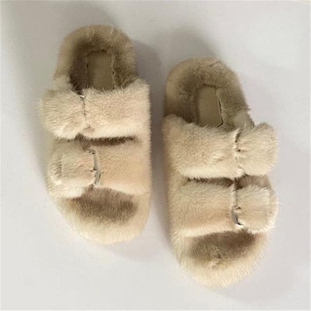 FUR SLIDES - Binge Online Boutique