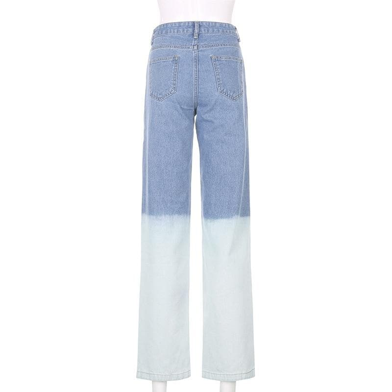 BLEACH DIPPED BOYFRIEND JEANS - Binge Online Boutique