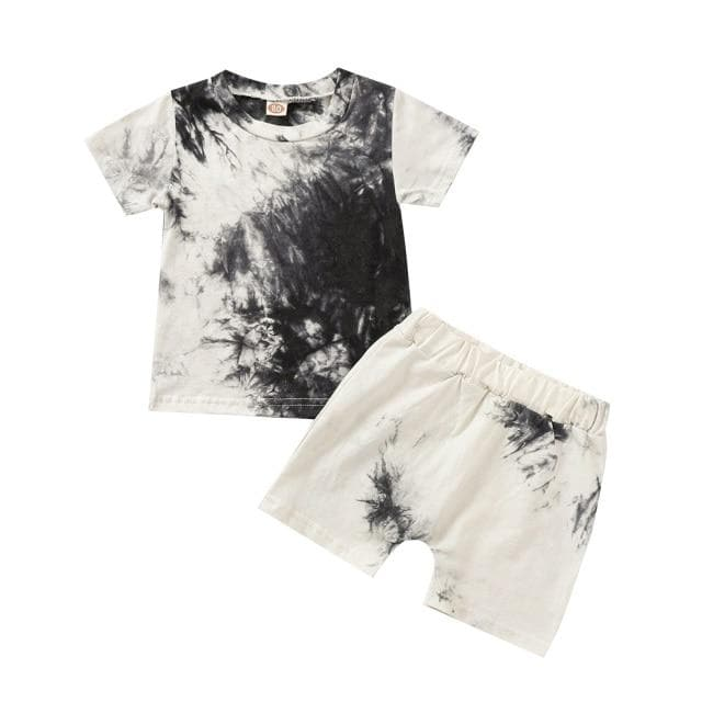 TIE-DYE SHORT SET [MORE COLORS] - Binge Online Boutique
