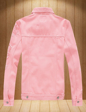MENS JuJu PINK Denim Jacket