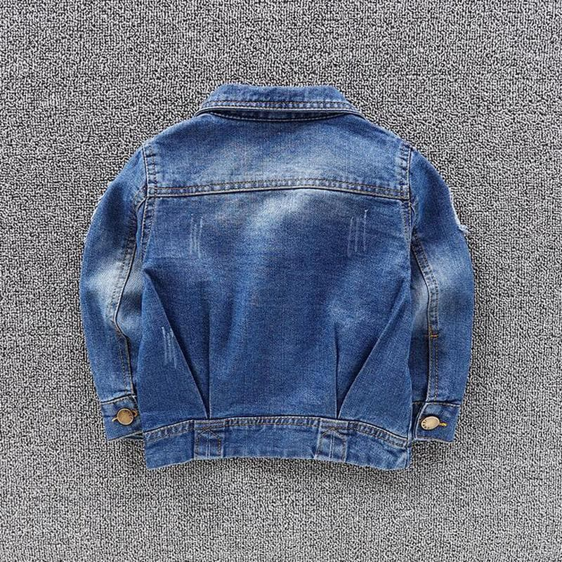UNISEX Distressed Denim Jacket