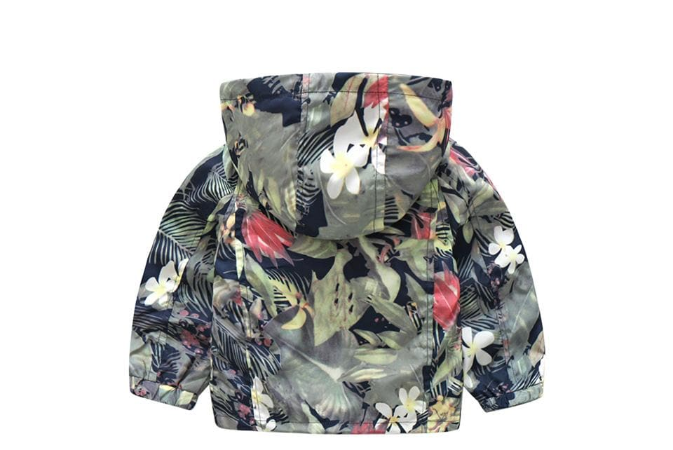 Floral Windbreaker - Binge Online Boutique