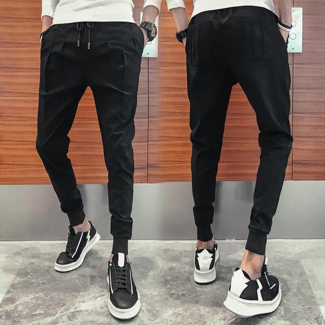 MENS PLEATED HAREM PANTS - Binge Online Boutique