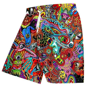 BRIGHT PRINT BOARD SHORT