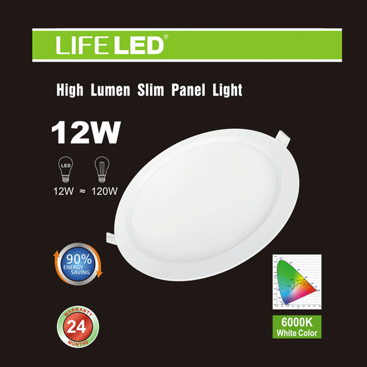 6 in. Slim LED Recessed Light Round Super Bright , LED Recessed Light , VIVA LED