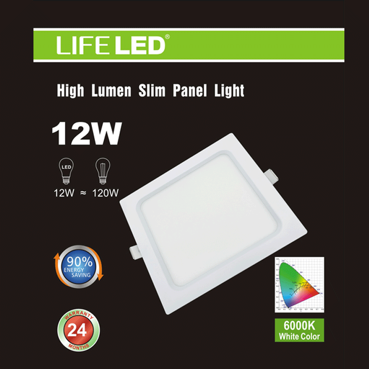 6 in. Slim LED Recessed Light Square Super Bright , LED Recessed Light , VIVA LED