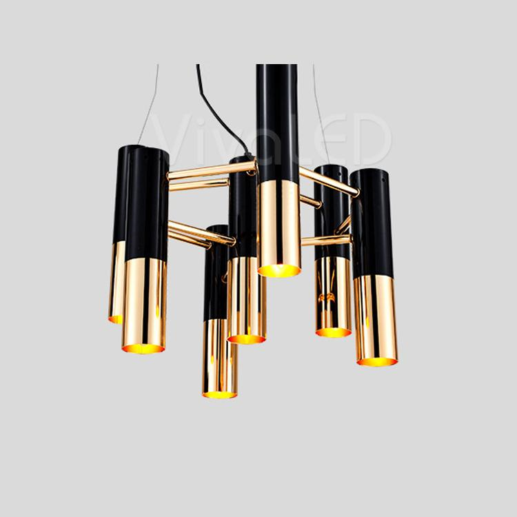 Seven Cylinders Light Fixture , Chandelier , VIVA LED