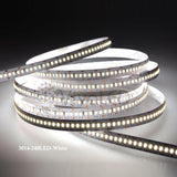 3014 SMD 240LED/M 1200 LED Non Waterproof Flexible Light Strip Double PCB White Color 5M(16.4Ft) For House decoration Show Cases Indirect light , Led Strip Light , VIVA LED