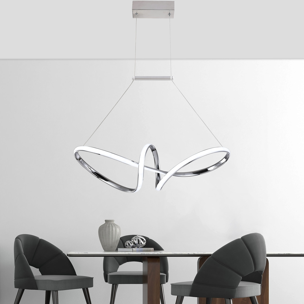 Medium Swirl LED Pendant Light , LED Pendant Light , VIVA LED