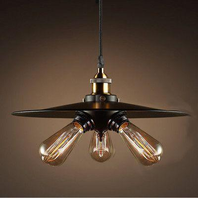 3 Bulbs Saucer Light Fixture , Chandelier , VIVA LED