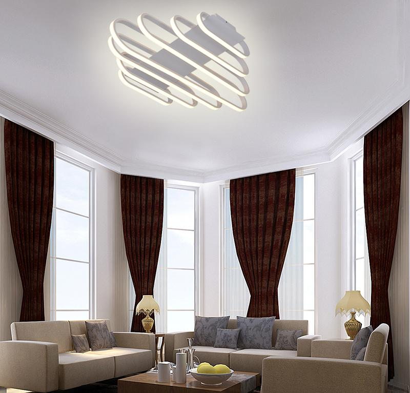 Spiral LED Ceiling Light Fixture , LED Ceiling Light , VIVA LED