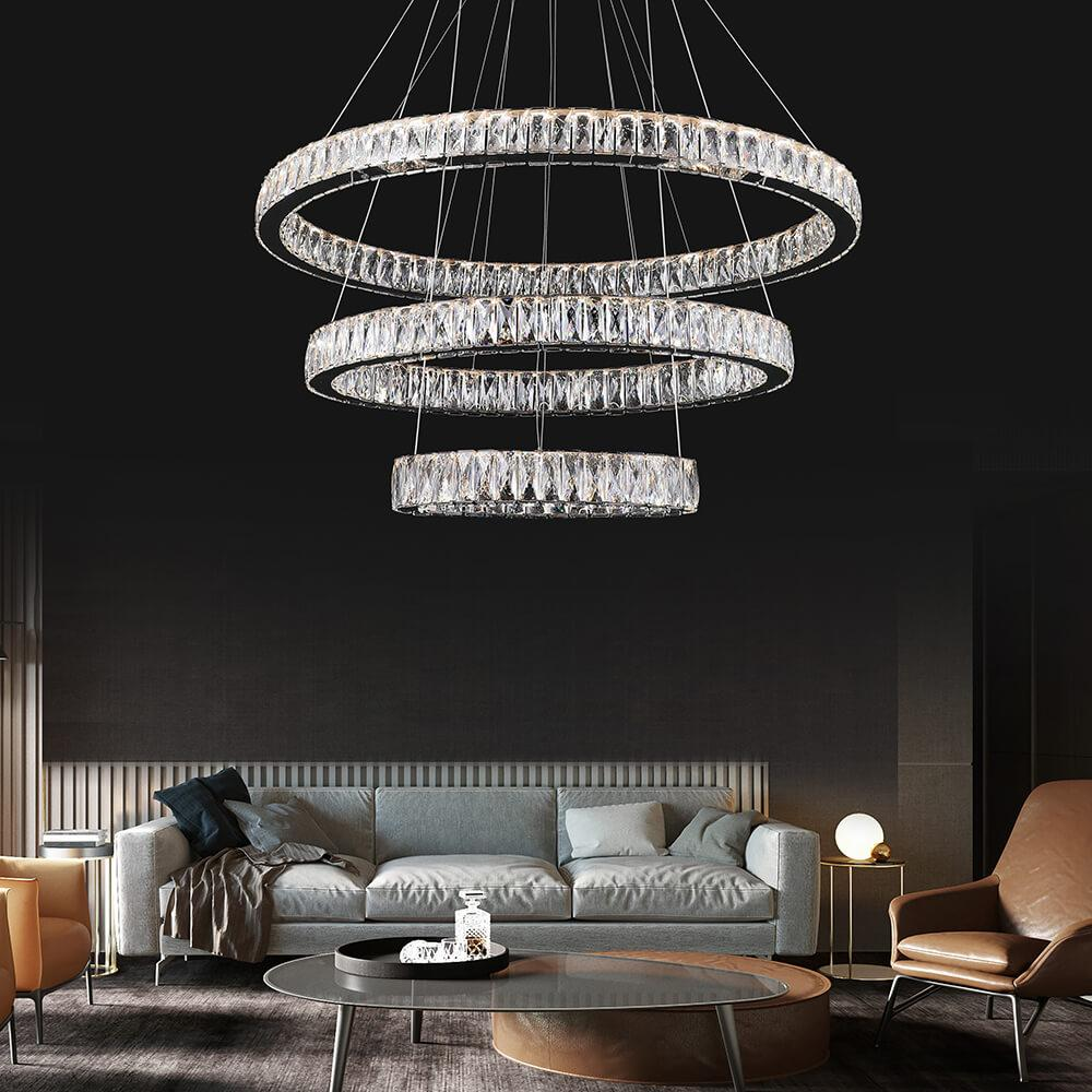 Crystal Chandelier 3 Oval , Crystal Chandelier , VIVA LED