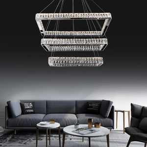Crystal Chandelier 3 Rec , Crystal Chandelier , VIVA LED