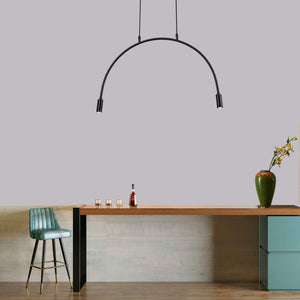 Vintage LED Drop Lamp Arc Design , Chandelier , VIVA LED