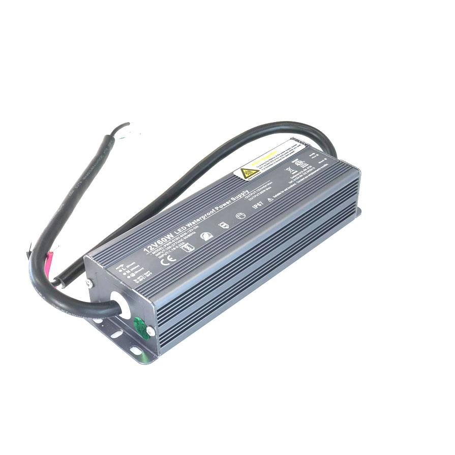 LED Power Supply Waterproof 12V 5A-60W , LED Power Supply , VIVA LED
