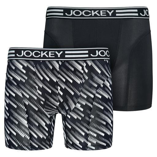 Jockey® Microfiber Active Boxer Trunk 2 Pack