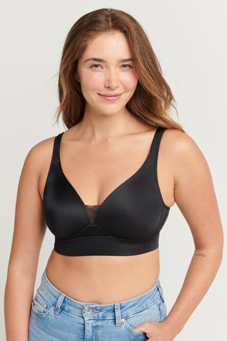 Jockey® Forever Fit™ V-Neck Molded Cup Bra