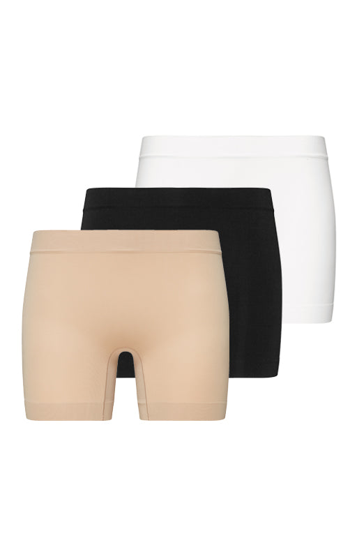 Jockey® Skimmies® Short Length Slipshort 3Pack