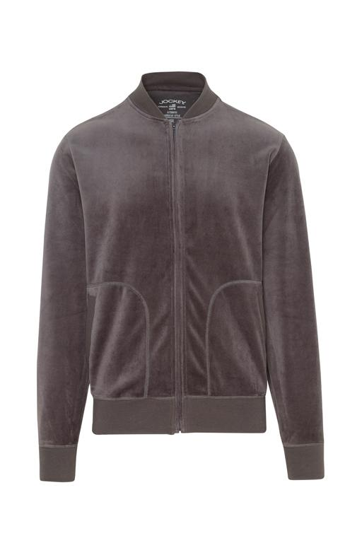 Jockey® Velour Lounge Jacket