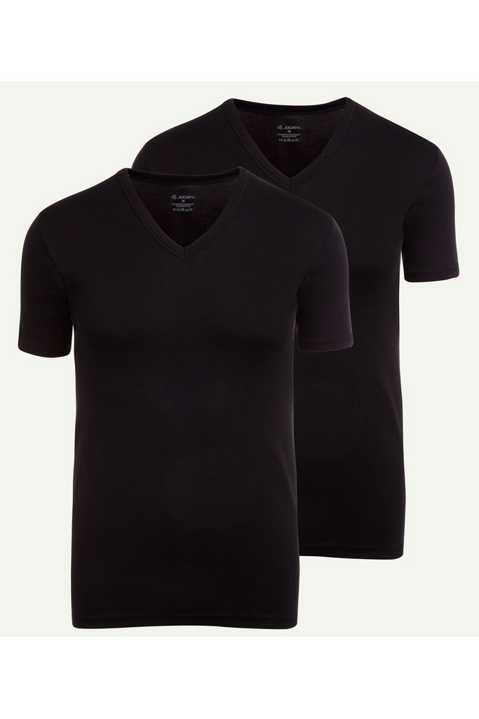 Jockey® Modern Classic V-Neck Shirt 2Pack