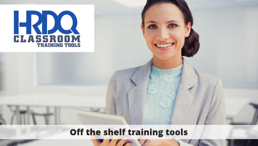 HRDQ Classroom Traing Tools - Off the shelf training tools