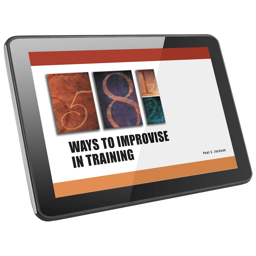 58 1/2 Ways to Improvise Training Activity Collection | HRDQ