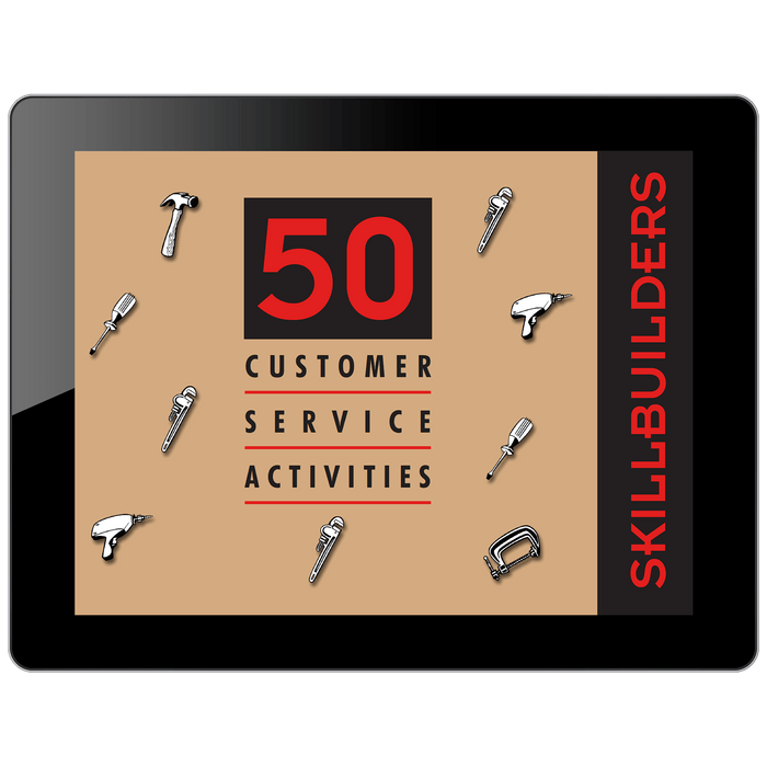 SkillBuilders 50 Customer Service Activities Collection | HRDQ