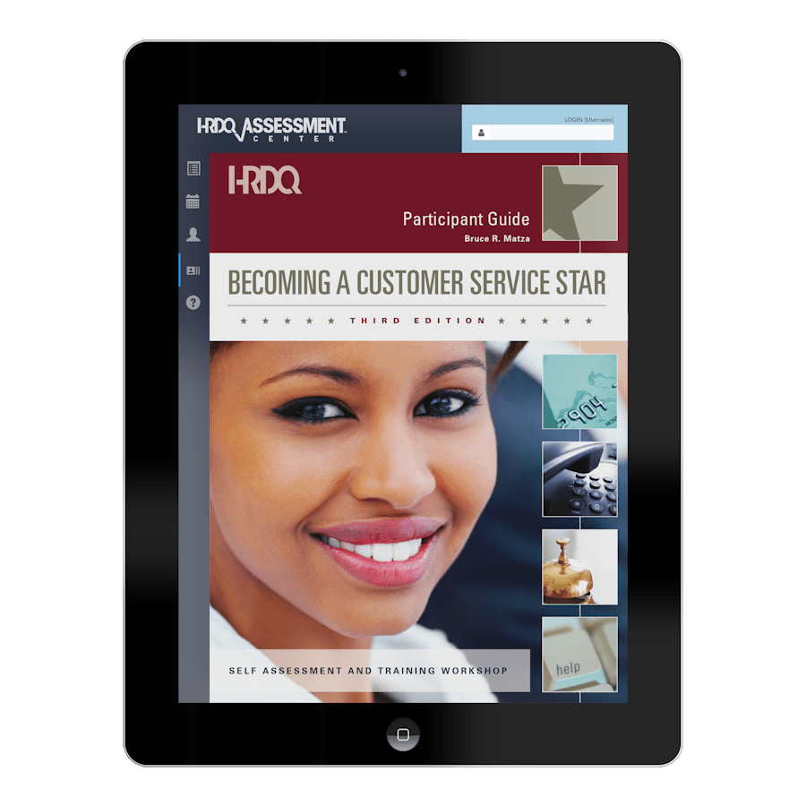 Becoming A Customer Service Star | HRDQ