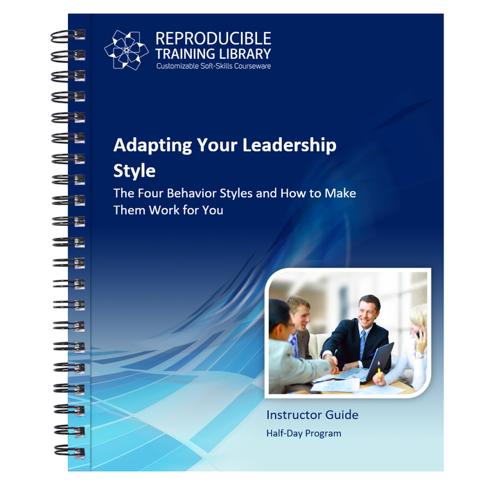 Adapting Your Leadership Style Customizable Course