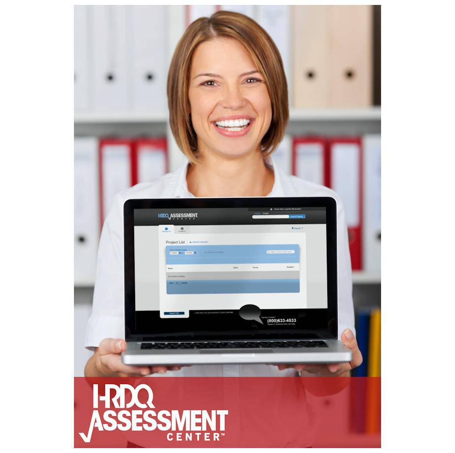 HRDQ Assessment Center New Subscription (First Year) | HRDQ