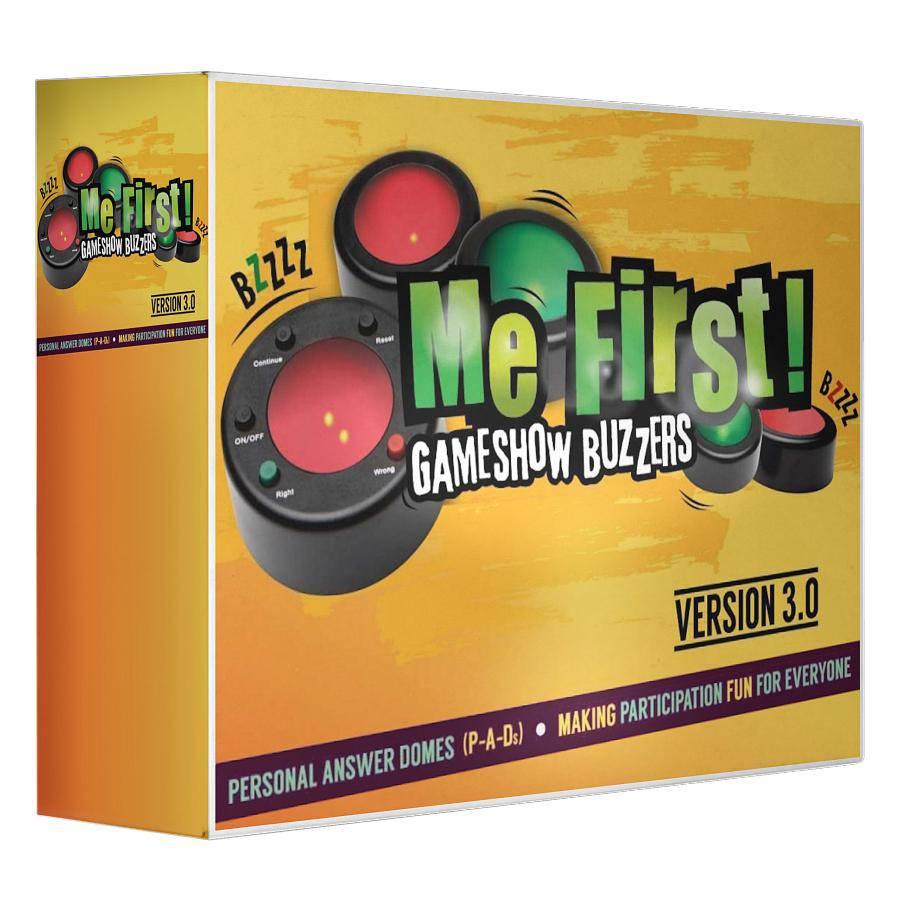 Me First! Game Show Buzzers (Version 3.0) | HRDQ