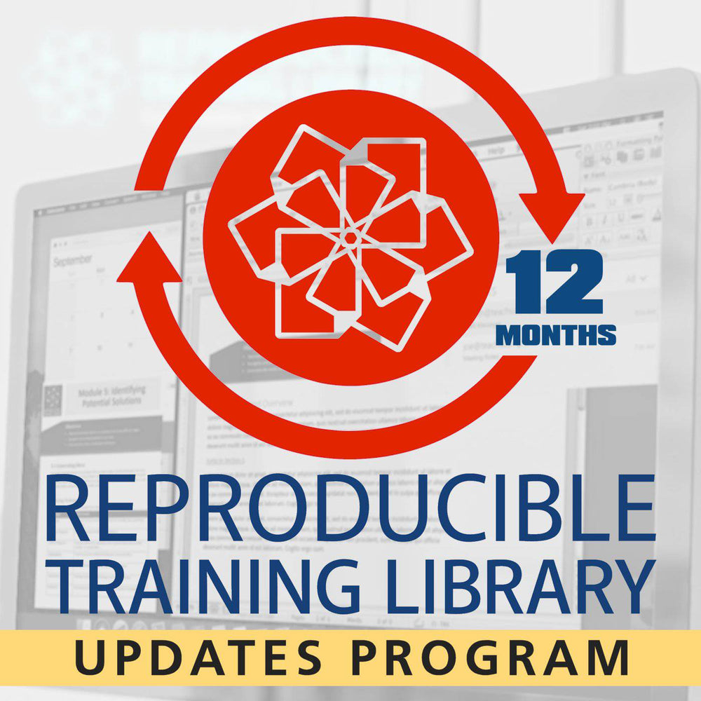 Reproducible Training Library Single Title Annual Renewal License (RTL) | HRDQ