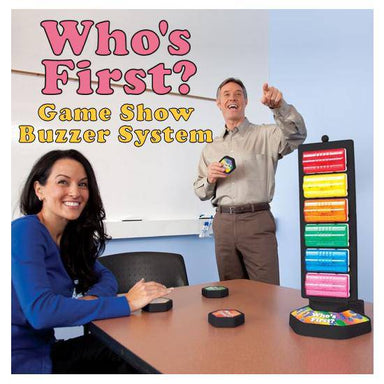 Who's First Wireless Game Buzzer System | HRDQ