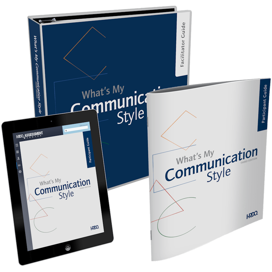 What's My Communication Style Third Edition | HRDQ