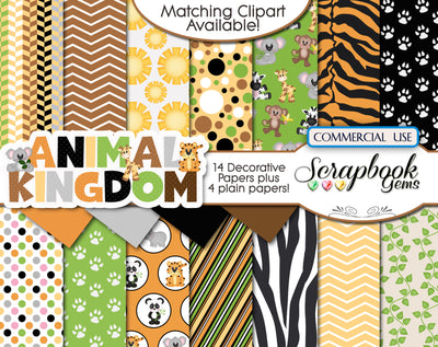 ANIMAL KINGDOM Digital Papers