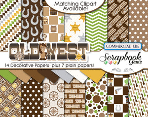 OLD WEST Digital Papers