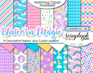 UNICORN MAGIC Digital Papers
