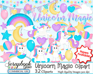 UNICORN MAGIC Clipart