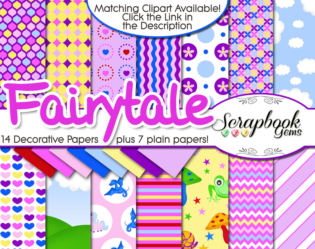 FAIRY TALE Digital Papers