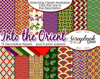 INTO THE ORIENT Digital Papers