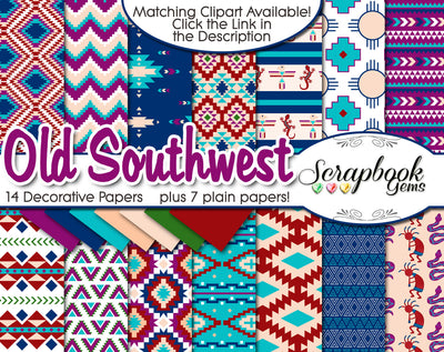 OLD SOUTHWEST Digital Papers