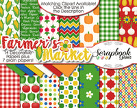 FARMER'S MARKET Digital Papers