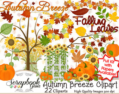 AUTUMN BREEZE Clipart
