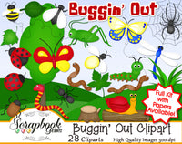 BUGGIN' OUT Clipart